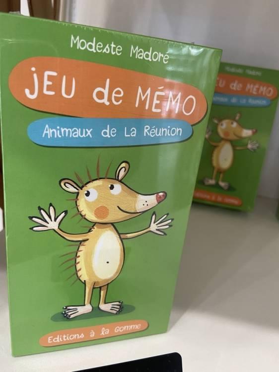 Jeu de Mémo éditions à la gomme
