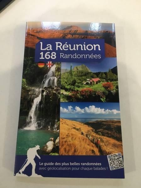 Page de couverture du guide La Réunion 168 randonnées