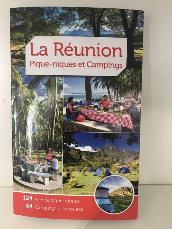 Page de couverture du guide La Réunion : pique-niques et campings