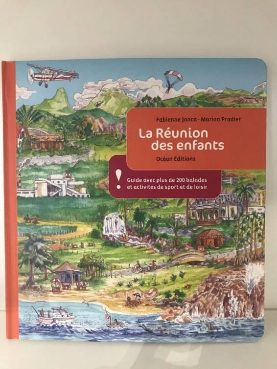 Page de couverture du guide La Réunion des enfants d'océans éditions, Novo Libris
