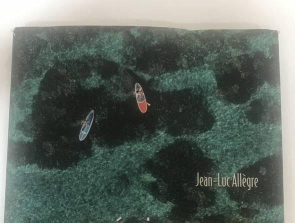 Page de couverture du livre de jean-Luc Allègre La Réunion sur mer