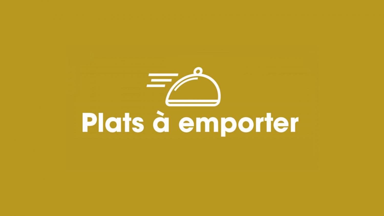 restaurants qui proposent des plats à emporter