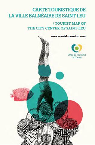 Carte touristique de Saint-Leu centre