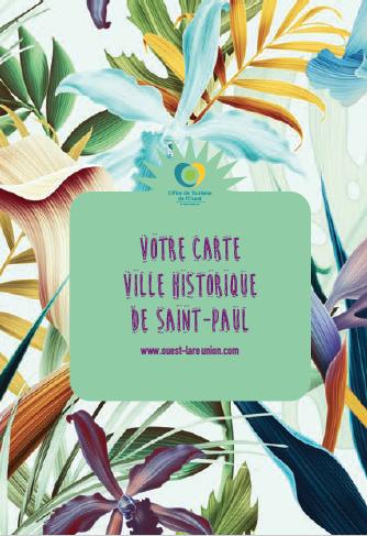 Carte touristique de la ville de Saint-Paul