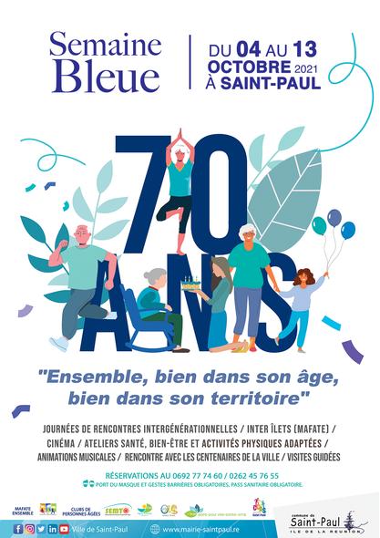 70ÈME ÉDITION DE LA SEMAINE BLEUE À SAINT-PAUL