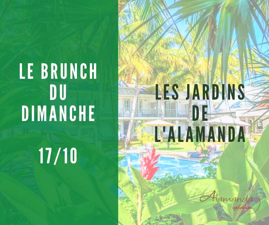 LE BRUNCH DU DIMANCHE À L'ALAMANDA BY EXSEL HÔTELS
