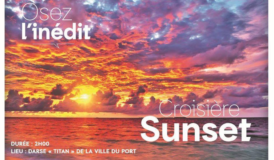 CROISIERE SUNSET BY FESTIYACHT DE BOURBON