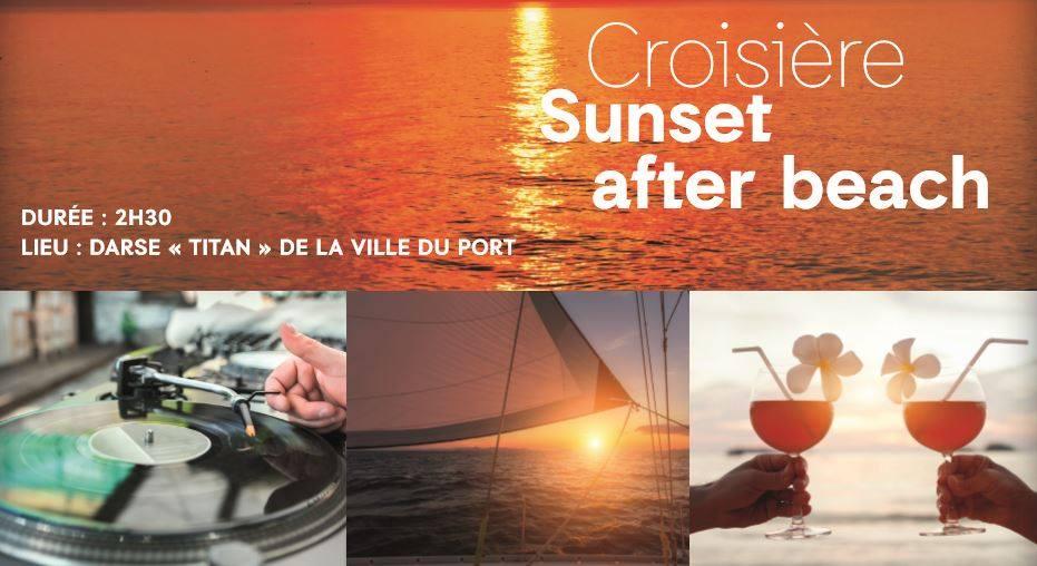 CROISIERE SUNSET AFTER BEACH BY FESTIYACHT DE BOURBON
