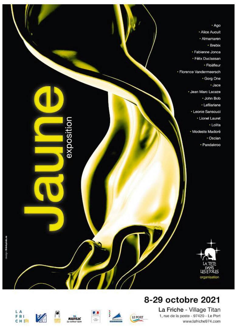 EXPOSITION À LA FRICHE - JAUNE