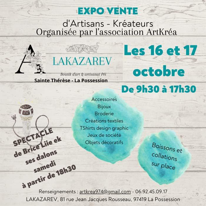 EXPO VENTE D'ARTISANS - KRÉATEURS À LA POSSESSION