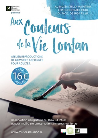 AUX COULEURS DE LA VIE LONTAN, Les stages et les ateliers, Agenda, Saint-Leu, Office de Tourisme de La Réunion, Ouest La Réunion 974