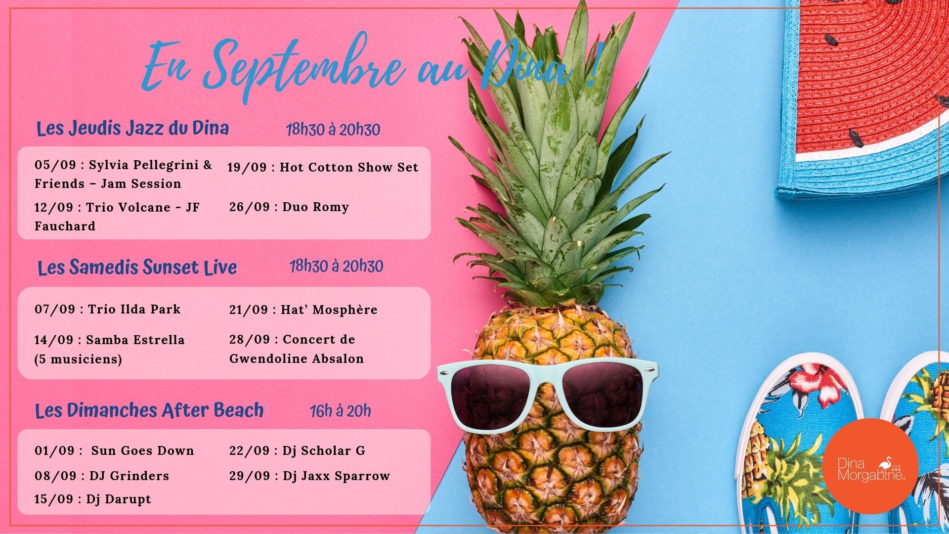 AFTER BEACH DU DINA, Les hôtels s'animent, Agenda, La Saline-Les-Bains, Office de Tourisme de La Réunion, Ouest La Réunion 974