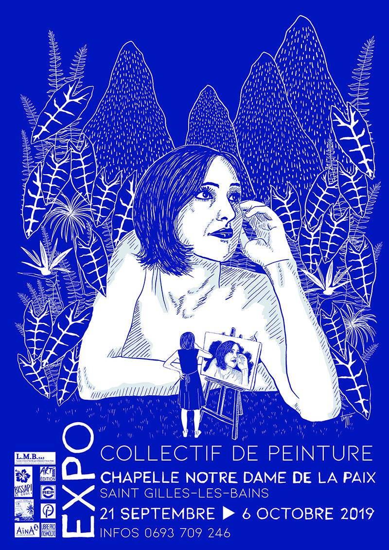 EXPO - Collectif de peinture, Les communes bougent, Agenda, Saint-Gilles-Les-Bains, Office de Tourisme de La Réunion, Ouest La Réunion 974