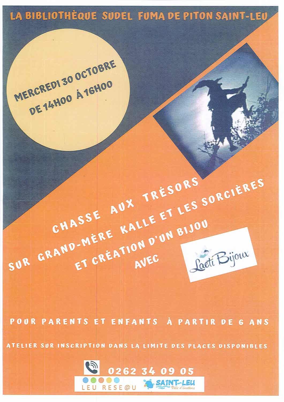 CHASSE AUX TRÉSORS Saint-Leu, agenda, Les communes bougent, Office de Tourisme, Ouest, La Réunion, Ile de La Réunion, 974