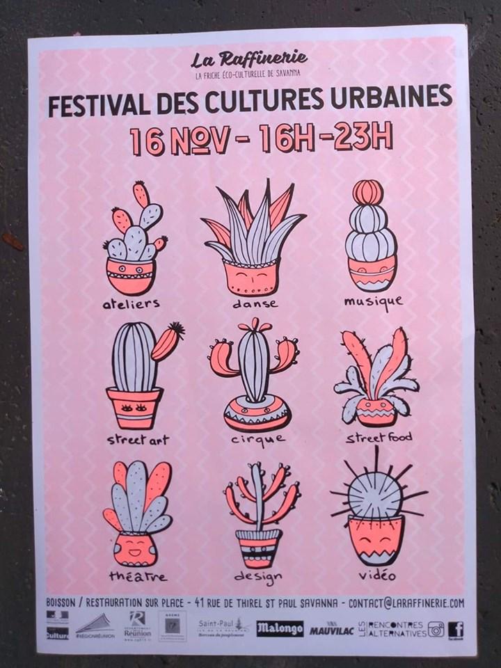 LE FESTIVAL DES CULTURES URBAINES À LA RAFFINERIESaint-Paul, agenda, L'actu des musées, Office de Tourisme, Ouest, La Réunion, Ile de La Réunion, 974