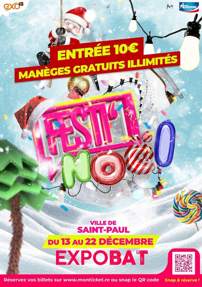 FESTI NOELSaint-Paul, agenda, Les communes bougent, Office de Tourisme, Ouest, La Réunion, Ile de La Réunion, 974