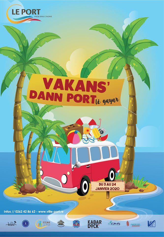 VAKANS' DANN PORTLe Port, agenda, Les communes bougent, Office de Tourisme, Ouest, La Réunion, Ile de La Réunion, 974
