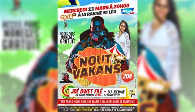 NOUT'VAKANSSaint-Leu, agenda, Les communes bougent, Office de Tourisme, Ouest, La Réunion, Ile de La Réunion, 974