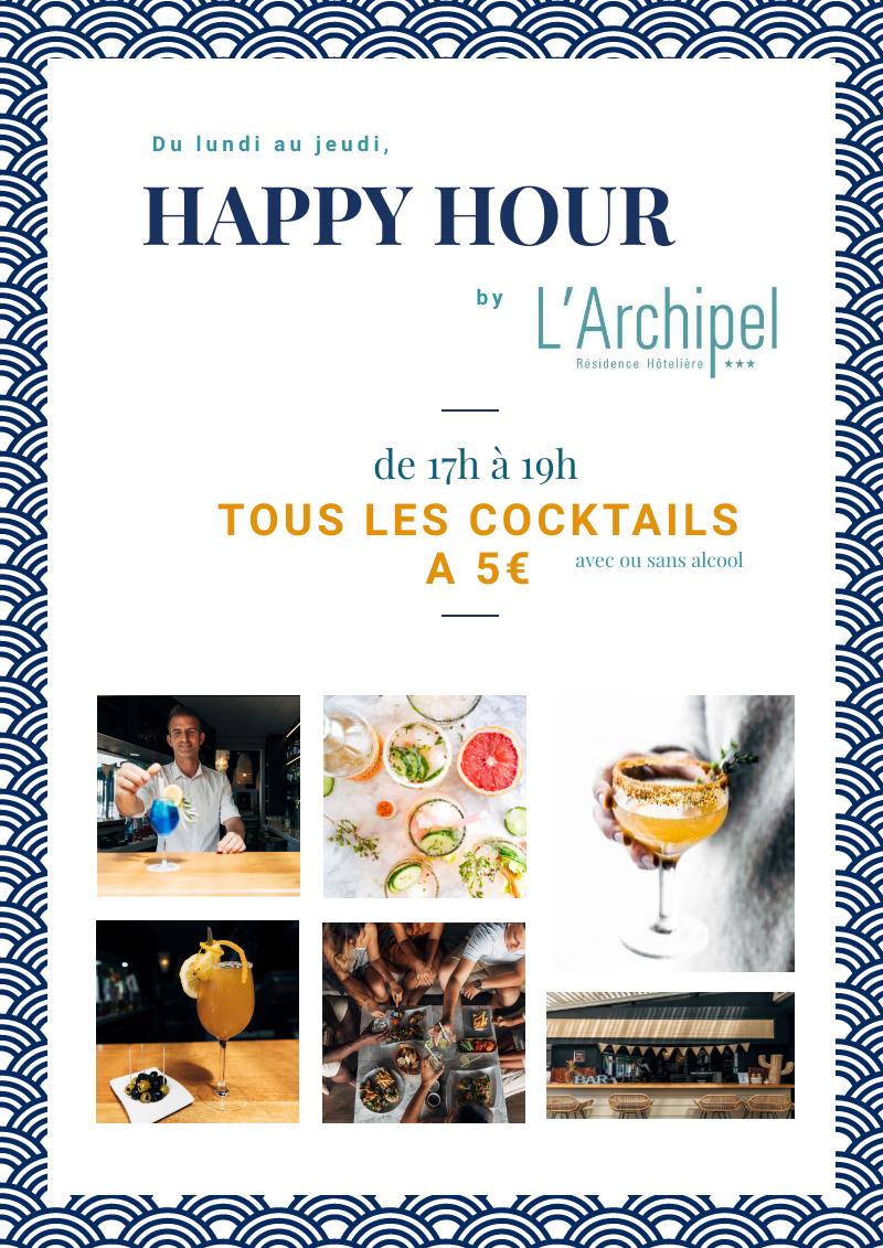 HAPPY HOUR BY L'ARCHIPELSaint-Gilles-Les-Bains, agenda, Les hôtels s'animent, Office de Tourisme, Ouest, La Réunion, Ile de La Réunion, 974