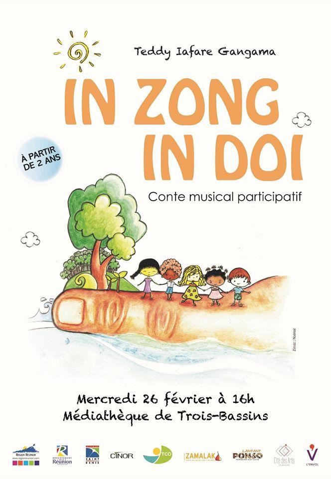 IN ZONG IN DOI - CONTE MUSICAL PARTICIPATIFTrois Bassins, agenda, Les communes bougent, Office de Tourisme, Ouest, La Réunion, Ile de La Réunion, 974