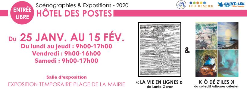 SCÉNOGRAPHIES & EXPOSITIONSSaint-Leu, agenda, Les communes bougent, Office de Tourisme, Ouest, La Réunion, Ile de La Réunion, 974