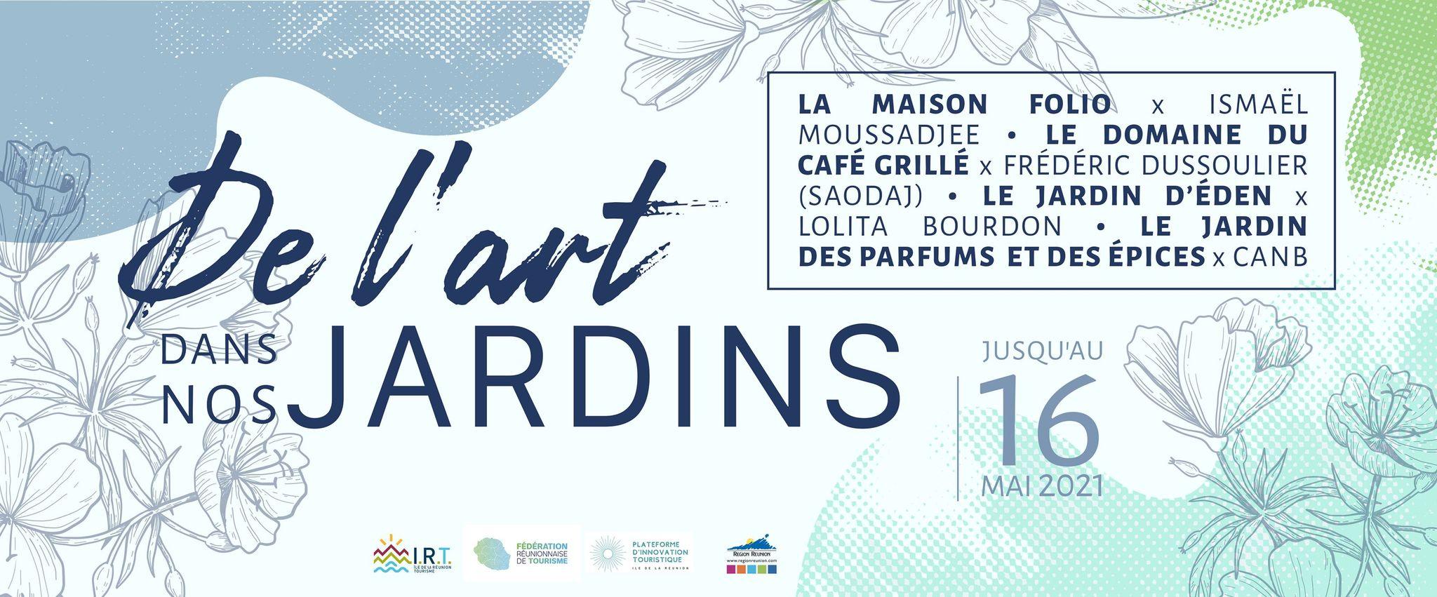 DE L'ART DANS NOS JARDINS - ATELIER AVEC L'ARTISTE LOLITA BOURDON