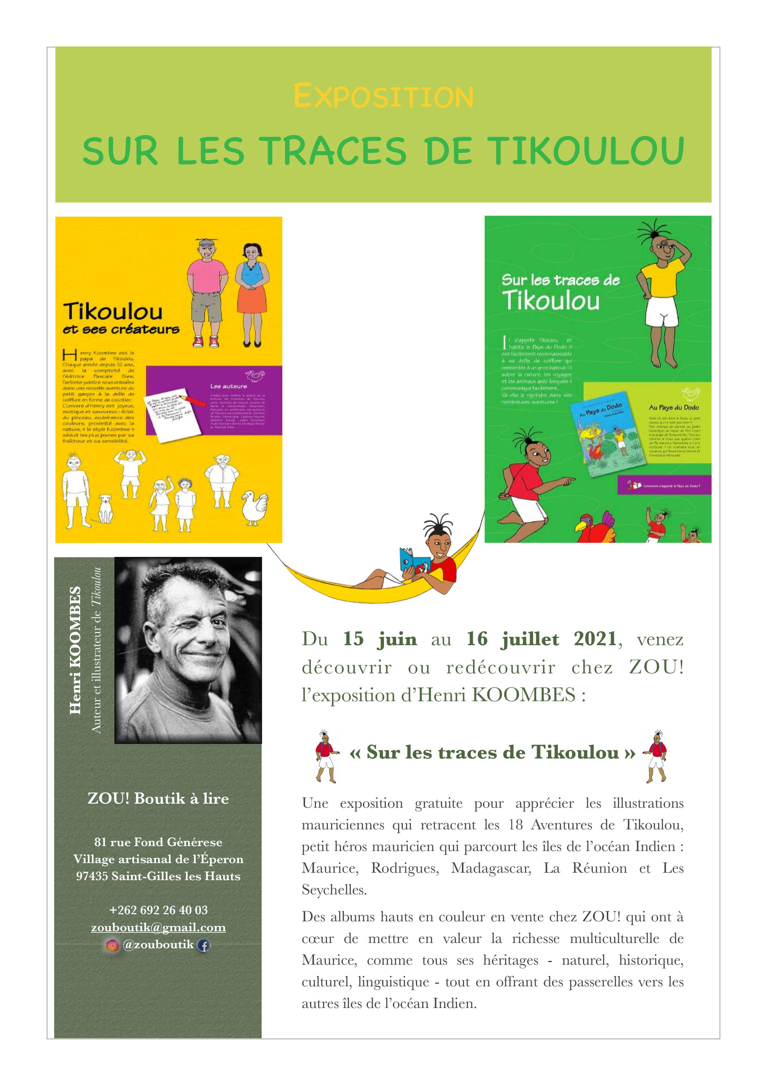 EXPOSITION - SUR LES TRACES DE TIKOULOU