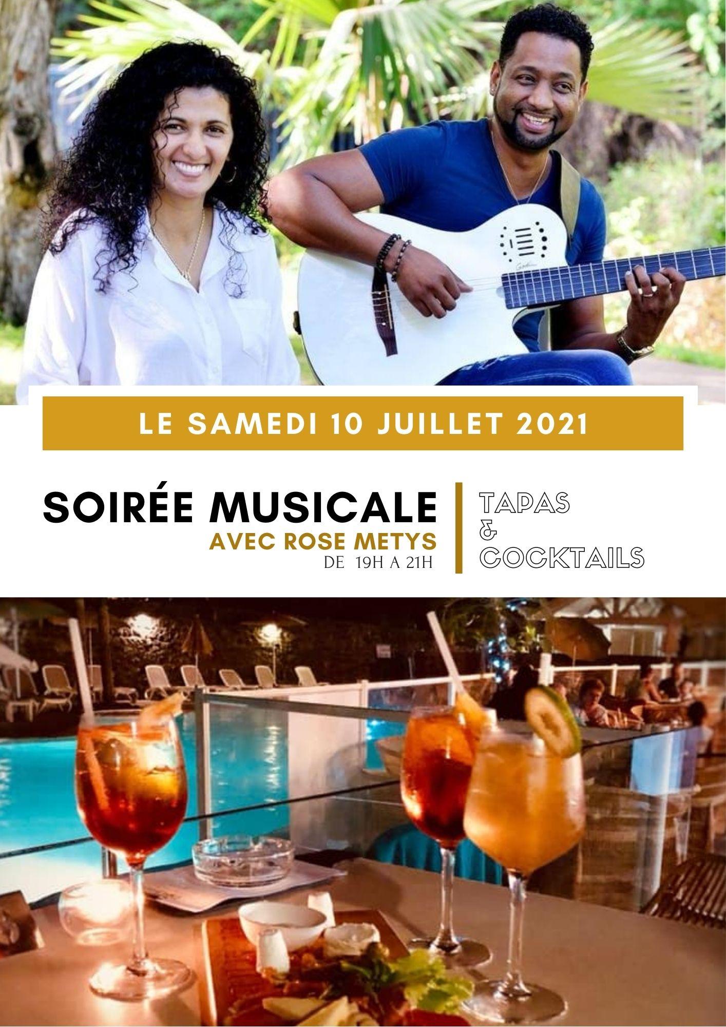 SOIRÉE MUSICALE ROSE MÉTYS