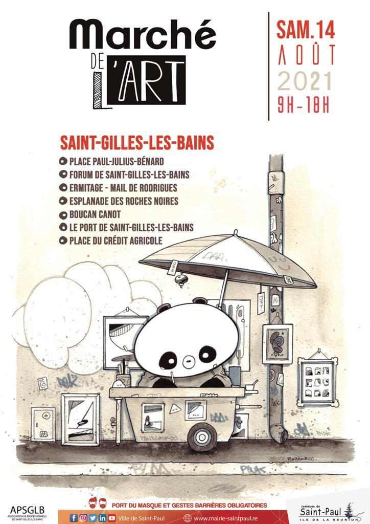 EXPOSITION - MARCHÉ DE L'ART À SAINT-GILLES-LES-BAINS