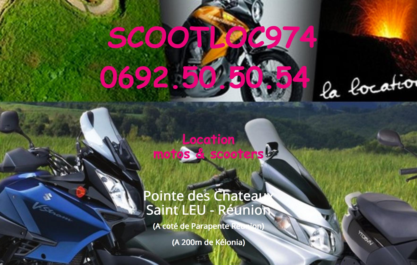 SCOOT LOC 974 - Motos - OUEST La Réunion 974
