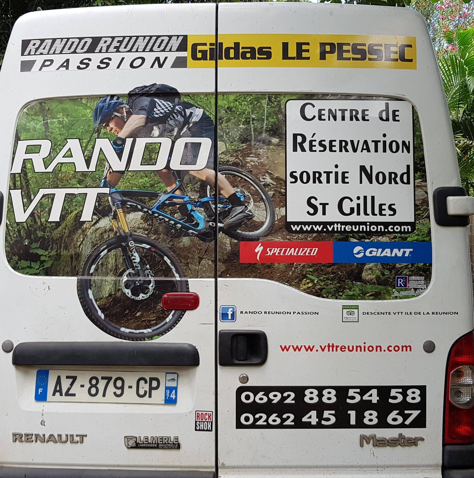 CYCLES GILDA LE PESSEC - RANDO REUNION PASSION - Vélos - OUEST La Réunion 974