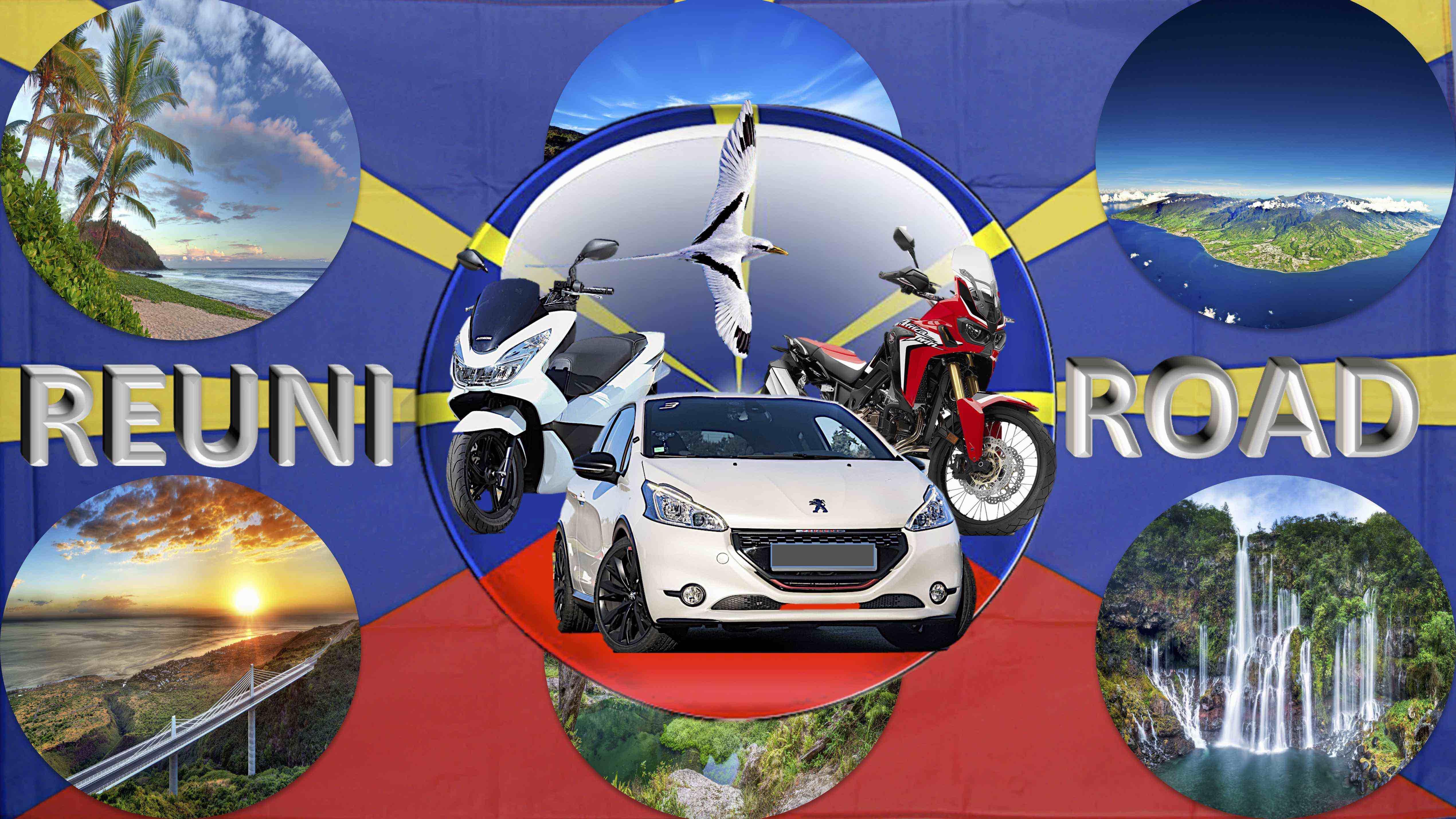 REUNI-ROAD - Autos - OUEST La Réunion 974